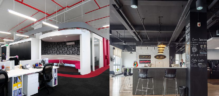 Group M Singapore and Crem International Shanghai have a millennial influence apparent in the office interior design