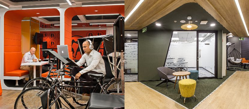 Cisco Singapore and Autodesk Bangalore office design includes thoughtfully designed layouts for focused work and collaboration