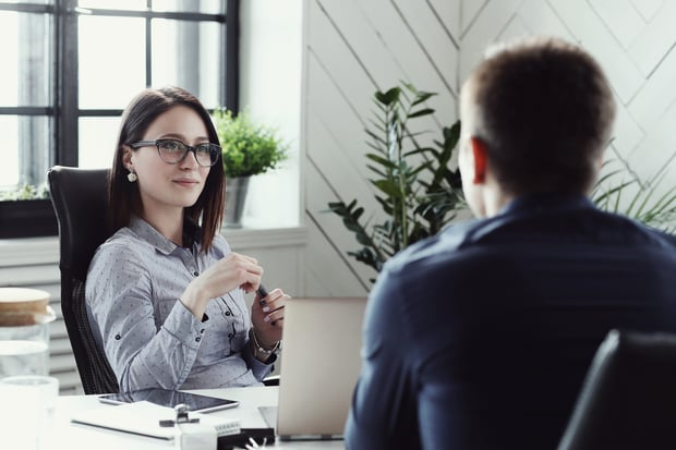 talking with HR about internal position